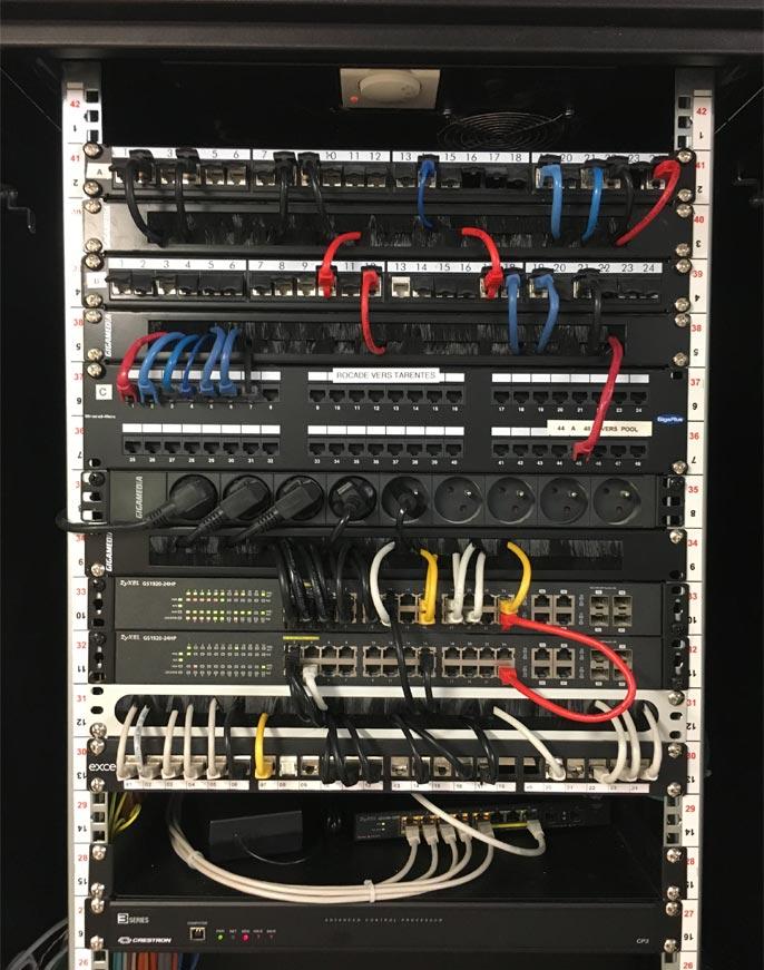 Pose de réseaux informatiques
